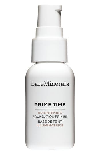 Bareminerals Prime Time Brightening Foundation Primer - No Color