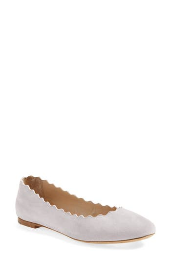 Women's Chloe 'Lauren' Scalloped Ballet Flat at NORDSTROM.com