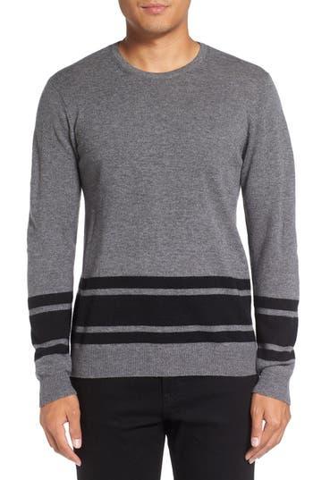 Men's Michael Stars Stripe Wool Blend Sweater