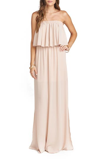 Show Me Your Mumu Hacienda Convertible Gown, Pink