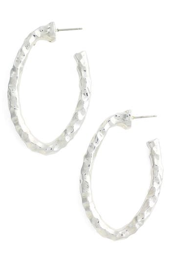 Women's Simon Sebbag Hammered Hoop Earrings