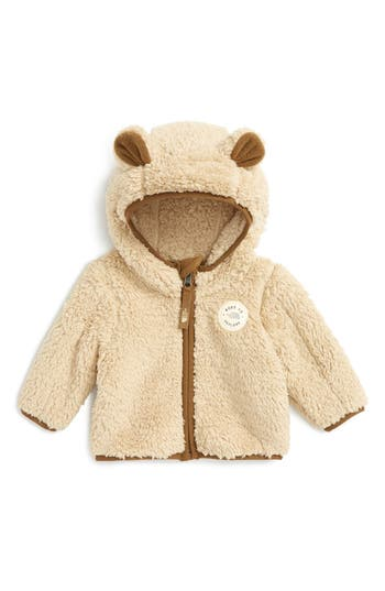 Infant The North Face Plushee Bear Zip Hoodie