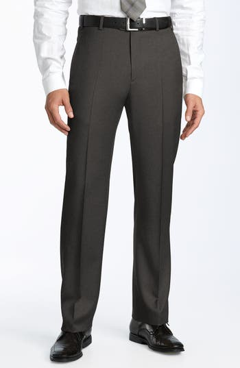 Men's Zanella 'Todd' Flat Front Trousers