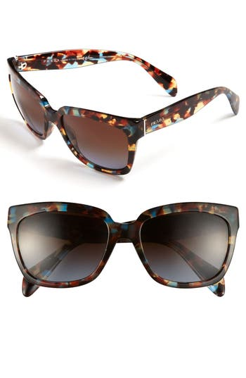 Women's Prada Timeless 56Mm Square Sunglasses - Brown
