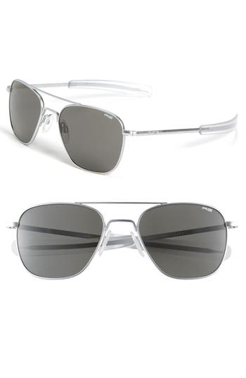 Randolph Engineering 55Mm Aviator Sunglasses -