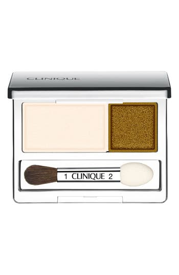 Clinique 'All About Shadow' Eyeshadow Duo - Buttered Toast