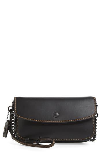Coach 1941 Leather Clutch - Black