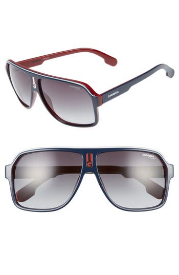 Men's Carrera Eyewear 1001/s 62Mm Sunglasses - Blue Red