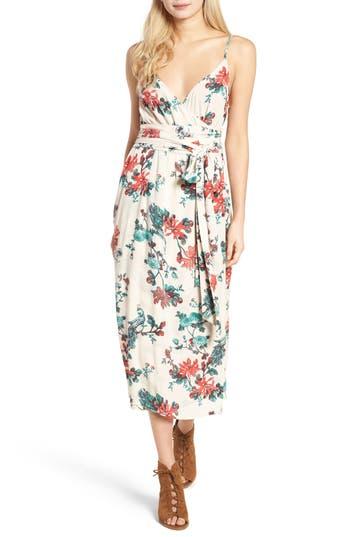 Women's Hinge Midi Wrap Dress