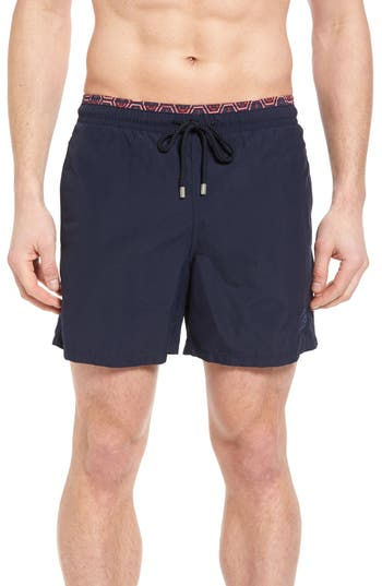 Vilebrequin Anchor Of China Print Swim Trunks
