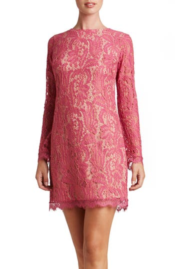 Dress The Population Cambria Shift Dress, Pink