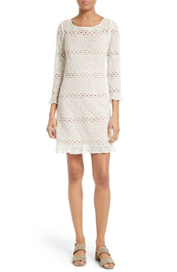 Tracy Reese Chantilly Lace Shift Dress