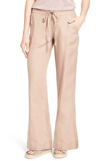 Women's Kut From The Kloth 'Garyson' Wide Leg Linen Pants