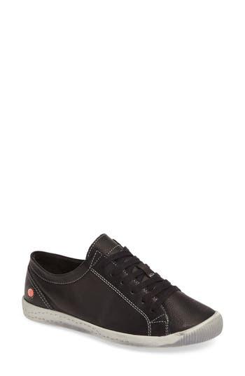 Fly London Isla Distressed Sneaker - Black