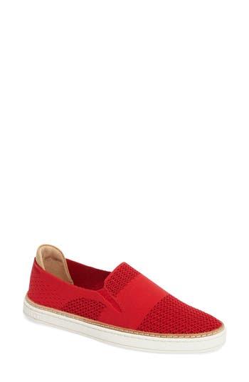 Women's Ugg Sammy Sneaker, Size 5 M - Red