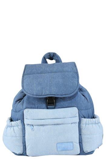 Infant Haru Print WaterRepellent Diaper Backpack  Blue