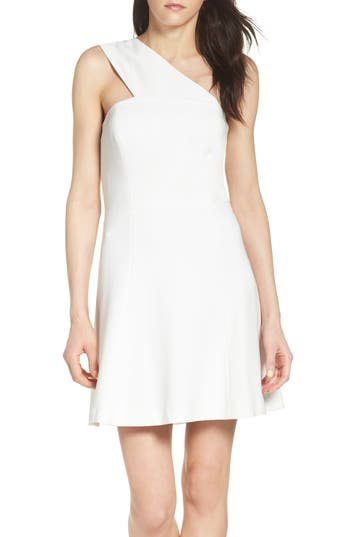 French Connection Whisper Light Dress, White