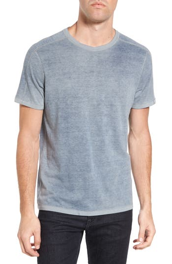 John Varvatos Star Usa Reverse Sprayed T-Shirt, Blue