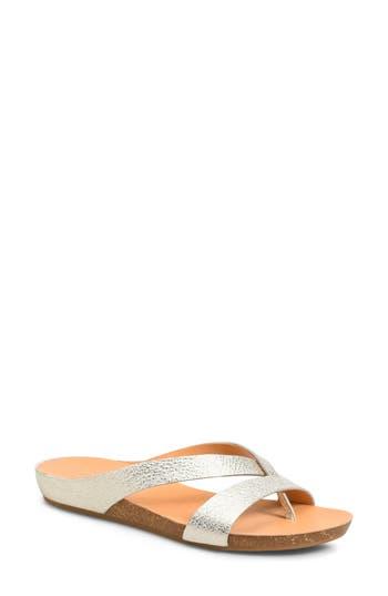 Kork-Ease Devoe Sandal, Metallic