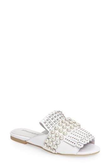 Women's Jeffrey Campbell Talley Embellished Loafer Mule