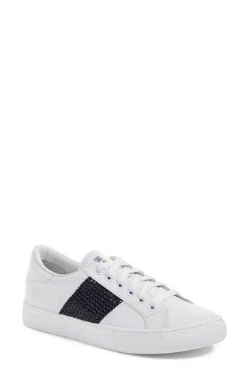 Marc Jacobs Empire Embellished Sneaker White