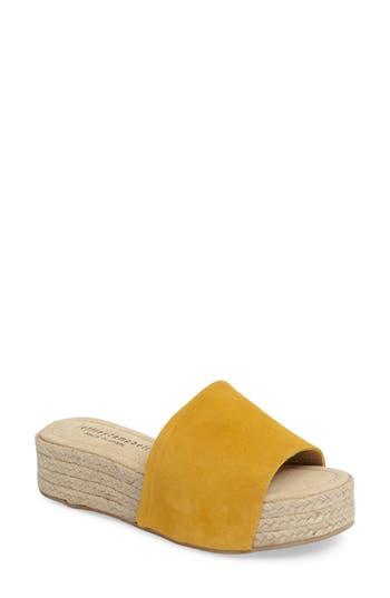 Women's Jeffrey Campbell Espadrille Sandal, Size 41 EU - Yellow