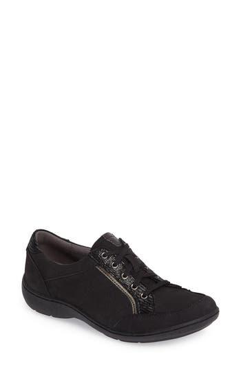 Aravon Bromly Sneaker AA - Black