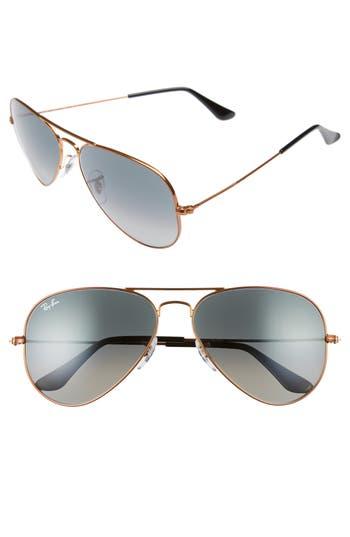 Ray-Ban Standard Original 5m Aviator Sunglasses - Bronze