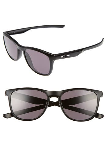 Oakley Trillbe X 52Mm Sunglasses - Matte Black/ Warm Grey
