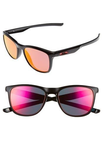 Oakley Trillbe X 52Mm Sunglasses - Black/ Ruby Iridium
