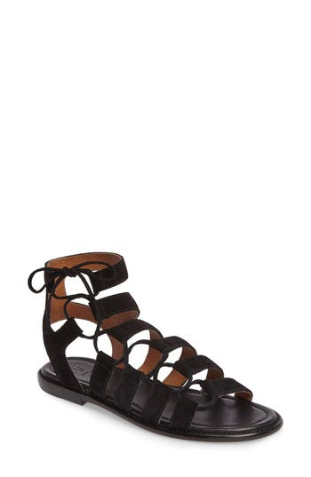 Frye Blair Ghillie Sandal, Black