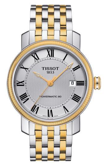 Tissot Bridgeport Automatic Bracelet Watch, 40Mm