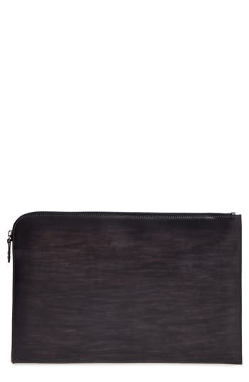 Magnanni Leather Portfolio - Grey