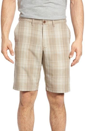 Tommy Bahama Dayboard Plaid Shorts, Brown