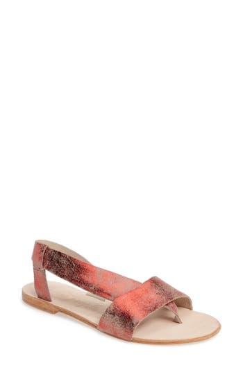 Women's Free People Under Wraps Sandal, Size 7.5-8US / 38EU - Red