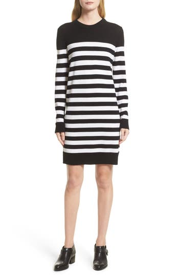 Women's Rag & Bone Lilian Stripe Merino Wool Dress