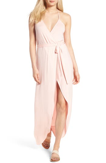 Thieves Like Us Racerback Maxi Dress, Pink
