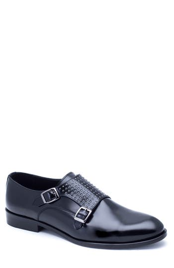 Men's Jared Lang Studded Double Monk Shoe