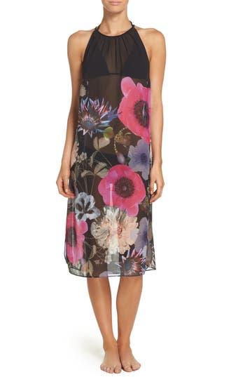 Ted Baker London Midi Cover-Up Dress, Black