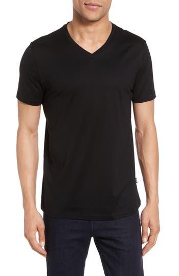 Boss V-Neck T-Shirt, Black