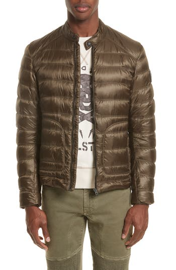 Belstaff Halewood Quilted Down Jacket, Green