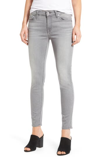 7 For All Mankind B(Air) Ankle Skinny Jeans, Grey