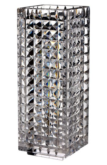 Waterford Fleurology By Jeff Leatham Kylie Lead Crystal Vase, Size One Size - White