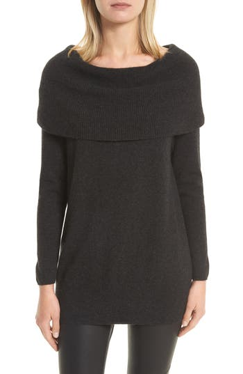 Joie Sibel Wool & Cashmere Sweater, Grey