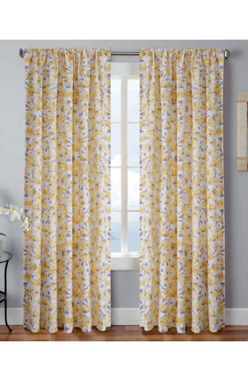 Vera Margery Window Panels, Size One Size - Yellow