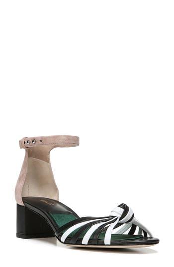 Diane Von Furstenberg Fonseca Ankle Strap Sandal- Black