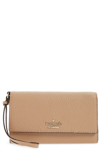 Kate Spade New York Jackson Street Malorie Leather Wallet - Brown