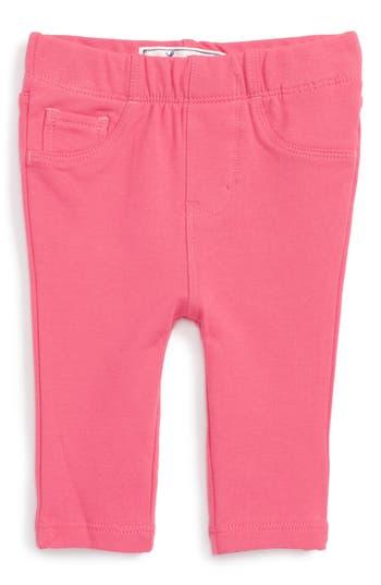 Infant Girl's Levi's Addison Knit Leggings, Size 3-6M - Pink