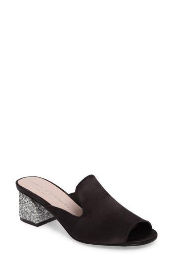 Chinese Laundry Mara Glitter Loafer Mule, Black