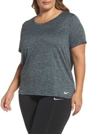 Plus Size Nike Dry Legend Training Tee, Black